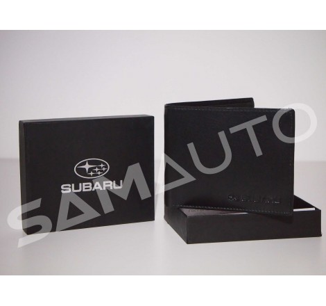 Portafoglio pelle Subaru
